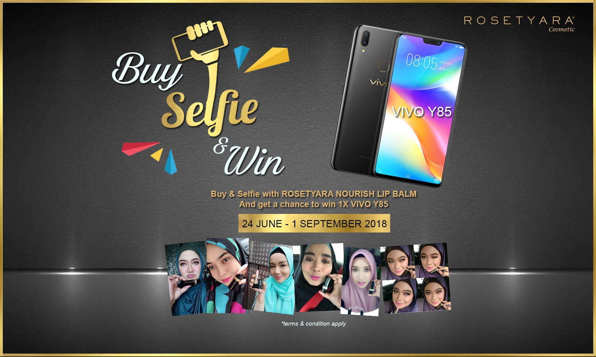 BUY SELFIE & WIN